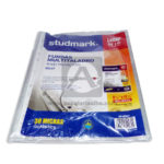 acetato  Sheet Protectors 0037 studmark Carta 235 x 285mm Protector  Transparente 30 Micras 100 Piezas