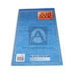 block  Jean Book norma Oficio 80 hojas Cuadriculado unisex