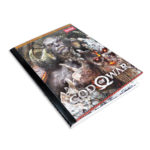 cuaderno cosido  Playstation God of War  Scribe cuadriculado 100 hojas masculino