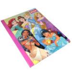cuaderno cosido  Princesas Disney  scribe 50 hojas rayado Niña