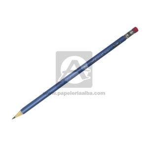 lápiz Presto faber castell N.o 2 Redondo Negro