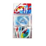 juego de mesa  Uno Waterproof clear cards   mattel +7 años