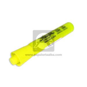 resaltador marcador amarillo