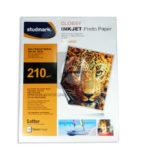 Papel fotográfico  Brillante  Studmark 210 gramos Carta 20 Hojas
