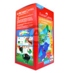 plastilina  Diverplasty faber castell 4 unidades plastilina caja