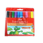 plumon  Fiebre-tip Pens  faber castell 10 unidades