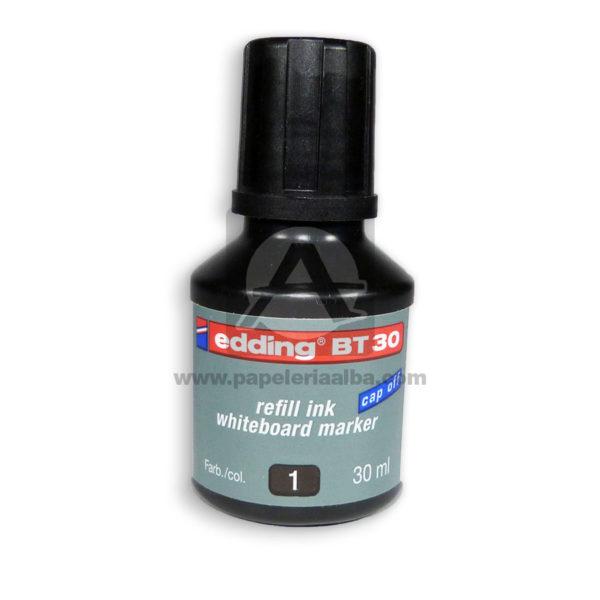 TINTA MARCADOR RECARG BT30 EDDING NEGRO-006629-004