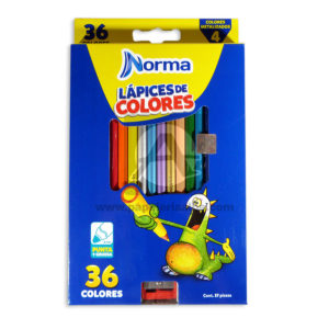 color Largo norma 36 unidades -000360