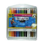 color  Magicolor  paper mate 12+3 Unidades Redondo Unipunta