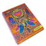 cuaderno argollado  Atrapa Sueños  Pappyer 80 hojas cuadriculado femenino