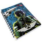 cuaderno argollado  Pequeño Qnota  Mercenario scribe 100 hojas cuadriculado masculino