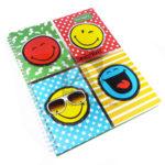 cuaderno argollado  Smile World  primavera cuadriculado unisex