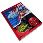 cuaderno cosido  Avengers  Scribe 100 hojas cuadriculado masculino