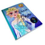 cuaderno cosido  Cubitos B Frozen Disney Norma 100 hojas cuadrito Niña