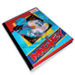 cuaderno cosido  Mickey Scribe 100 hojas cuadriculado Niño
