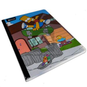cuaderno cosido Simpsons norma cuadriculados - 8315-602