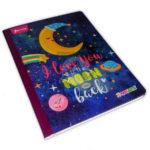 cuaderno cosido  X-Presarte Moon  Norma 50 hojas cuadriculado femenino