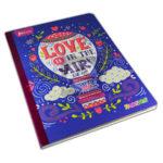 cuaderno cosido  X-Presarte Globo norma rayado 50 hojas femenino