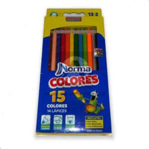 lápiz-color-norma-132-unidades