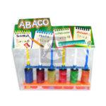 ábaco  Escolar  Proyecciones Plásticas Vertical +3 Años  unisex Multicolor