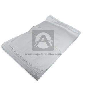 bolsa de papel Plana Paquete #113 Converpel blanco 100 Unidades Grande