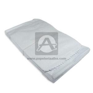 bolsa de papel Plana Paquete #114 Converpel blanco 100 Unidades Grande