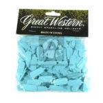 Confetti  Para Mesa Tetero   Great Western Bolsa azul aguamarina