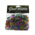Confetti  Para Mesa Signo Pesos  Metalizado Great Western Bolsa Surtido