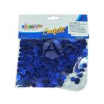 Confetti  Para Mesa Bolitas Metalizado Fival Bolsa Azul