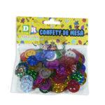 Confetti  Para Mesa Caritas Metalizado  MiniToys Bolsa Surtido
