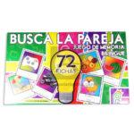 lotería juego didáctico  de memoria busca la Pareja bilingüe Proyecciones Plásticas +3 Años  75 Fichas unisex Caja