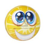 pelota  Antiestres Cara sonriente  Fival unisex amarillo Pequeña