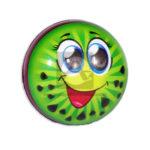 pelota  Antiestres Cara Feliz  Fival unisex Negro verde Pequeña