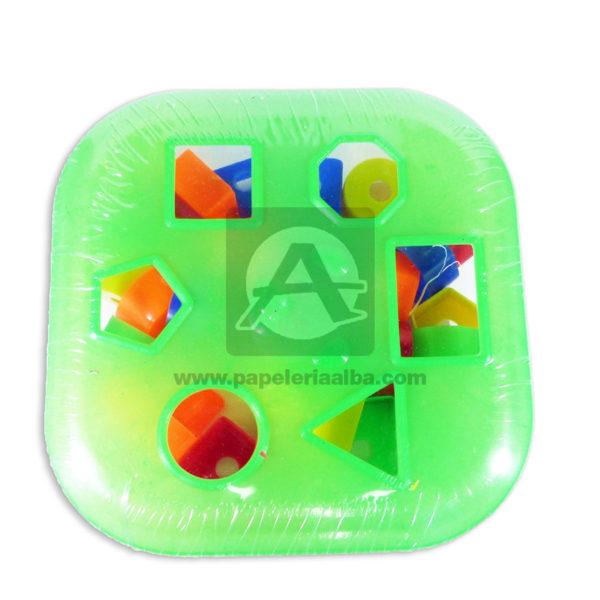 juego para armar juego didáctico Caja Geométrica Fantiplas Surtido +3 Años Plástico