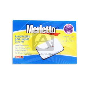 almohadilla Para sellos Stamp Pad No. 3 Merletto Negro