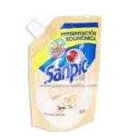 ambientador  Liquido para Pisos Antibacterial Vainilla 3x Poder Económico   Sanpic 150mL Sachets