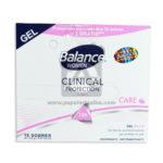 desodorante  Sobre Clinical Protection Care Gel Caja  Balance femenino 10,5 Gramos Sachets 18 Unidades