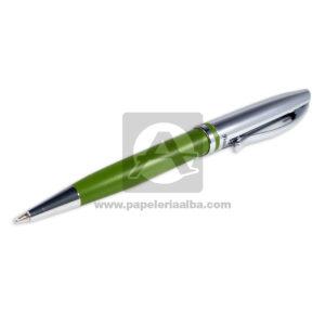 bolígrafo Jazz Elegance Velvet color Verde Pelikan Negro Metálico unisex