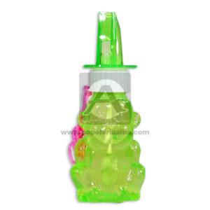 juego didáctico Burbujero figuras con pito Caprichos verde