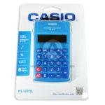 Calculadora  HL - 815L Casio Azul unisex