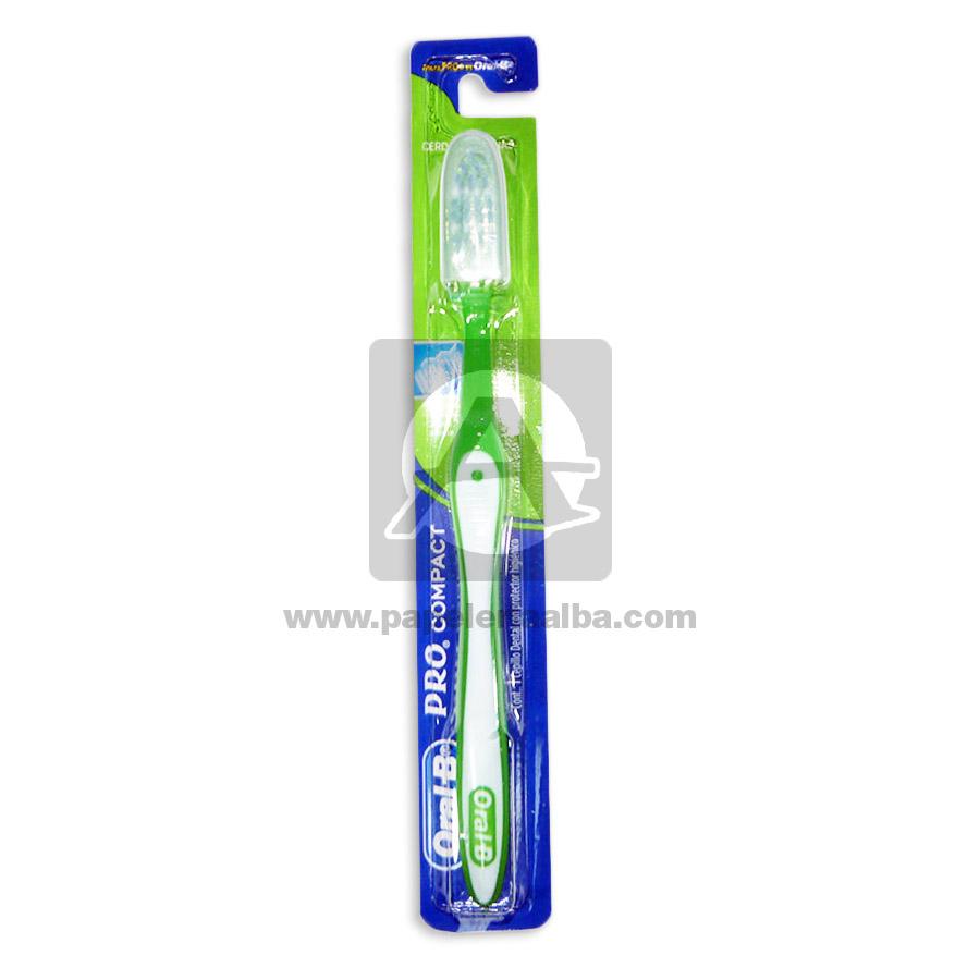 cepillo de diente  Pro Compact Adulto   verde unisex Grande