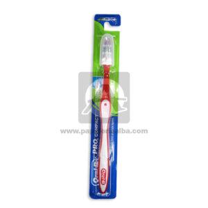 cepillo de diente Pro Compact Adulto Oral-B Rojo unisex Grande