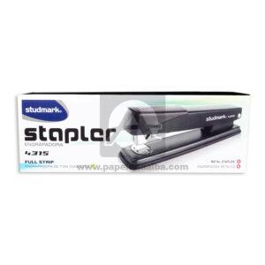 cosedora Engrapadora Estapler 4315 full strip Studmark Negro Grande