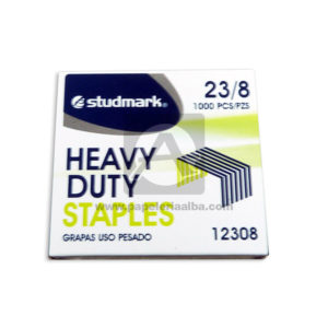 Grapa Heavy Duty Staples Uso pesado 12308 Studmark Metálico Caja 100pcs 23/8