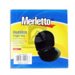 dactilar almohadilla  Huellero Finger Pad   Merletto Negro Pequeño