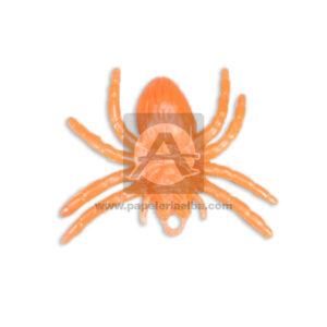 Insecto Decorativo Araña Cuantias naranja Pequeño