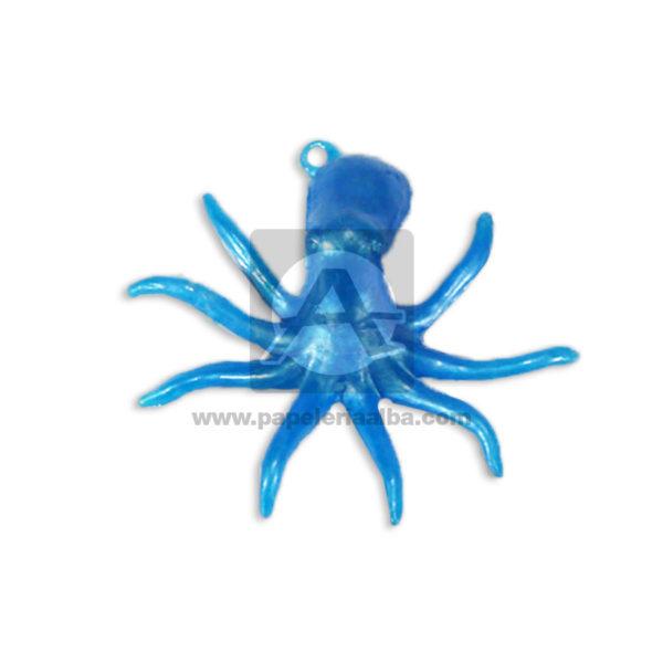 Insectos Decorativos Pulpo Cuantias Azul Pequeño