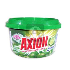 Jabones de Loza Espuma Activa Contra Grasa Limón Axión verde 235 Gramos Mediano
