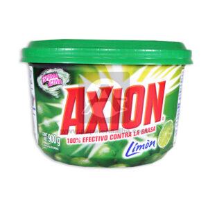 Jabones de Loza Espuma Activa Contra Grasa Limón Axión verde 900 Gramos Grande