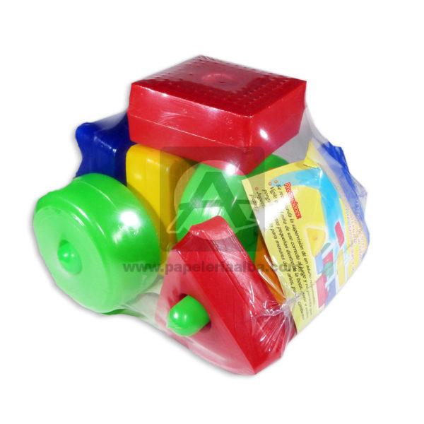 juego para armar Bloques Lógicos Cuantias Multicolor +3 Años 12 unidades